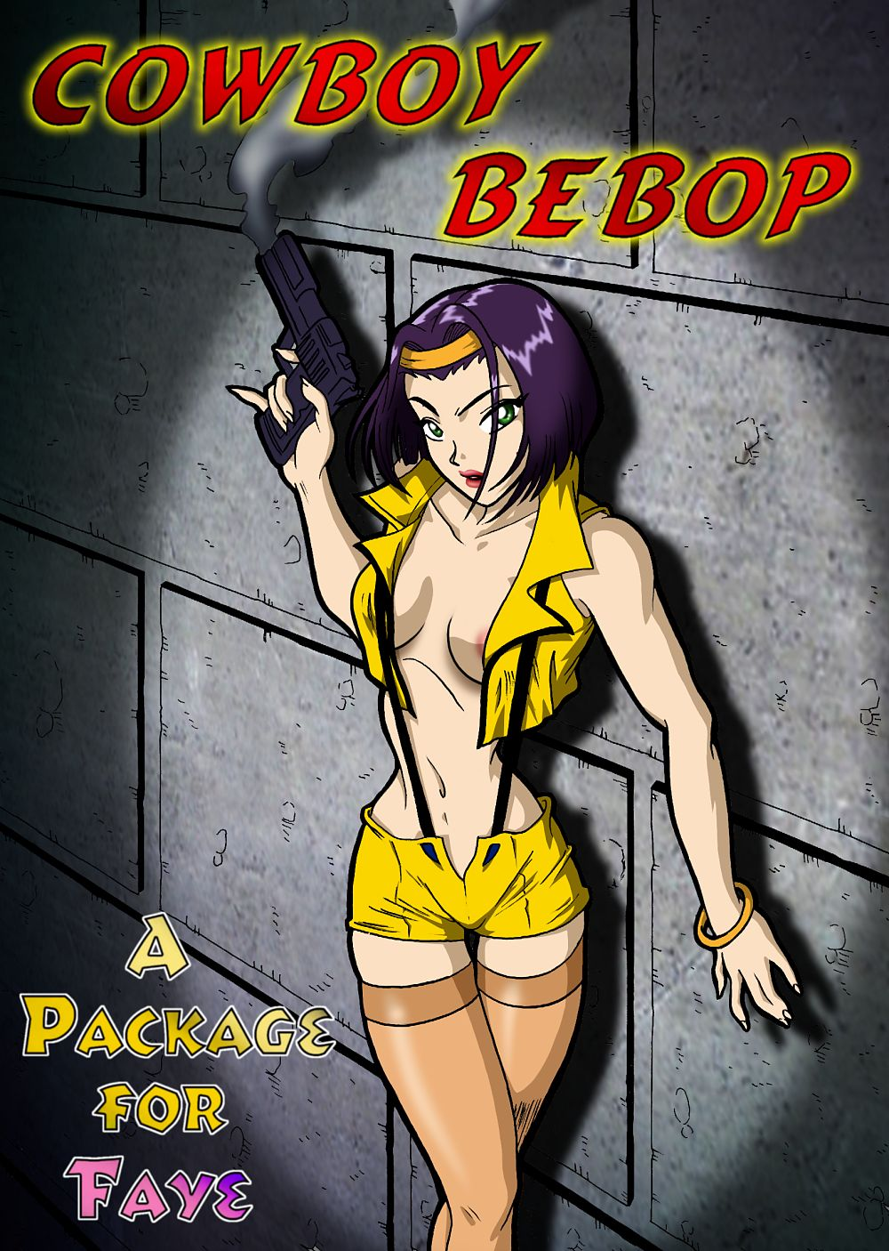 Cowboy Bebop Hentai - A package for Faye page 1